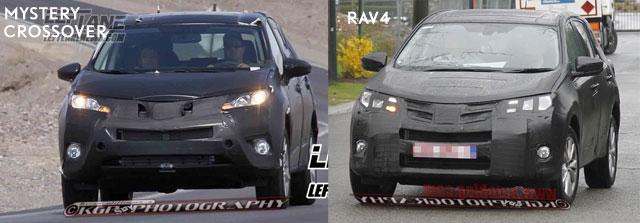 Lexus Crossover vs RAV4 Front