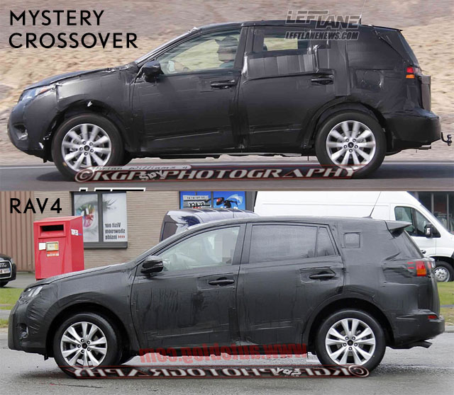 Mystery Crossover vs RAV4