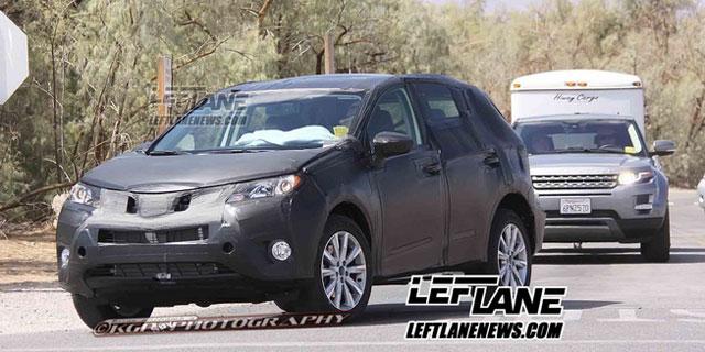 Lexus Mystery Crossover