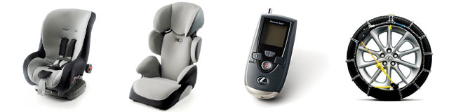 Lexus GS Baby Seats Remote Starter and Snow Chains