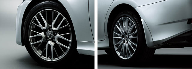 Lexus GS Wheels & Mudguards