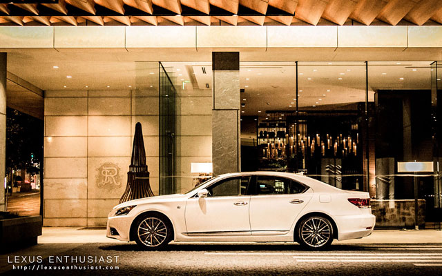 2013 Lexus LS 460 F SPORT in Ultra White