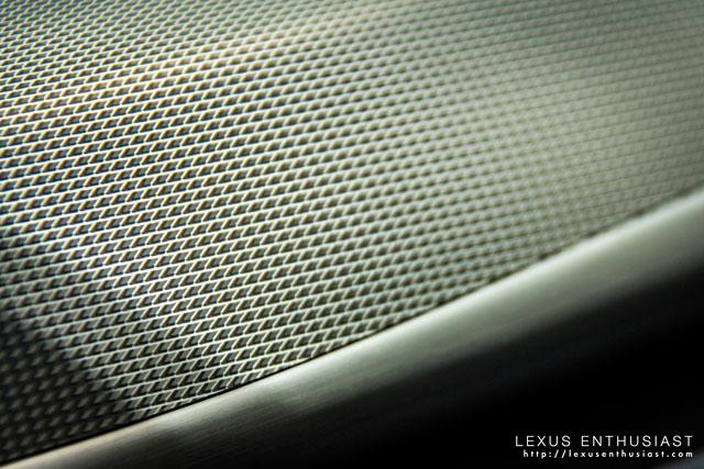 Lexus LS F SPORT Interior Aluminum Trim