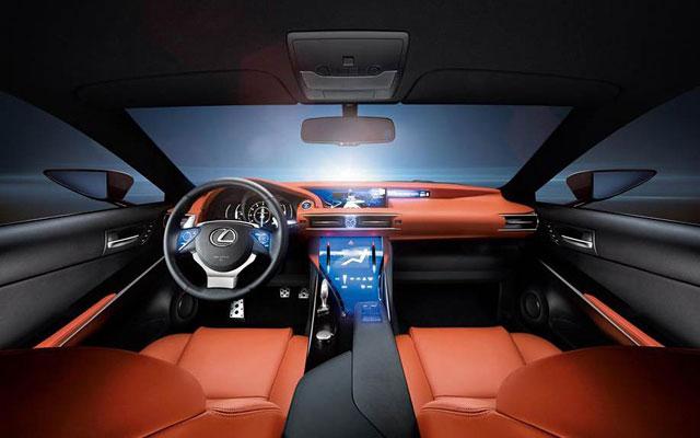 Lexus LF-CC Interior