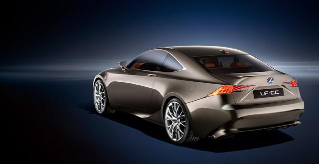 Lexus LF-CC Motor Trend Article