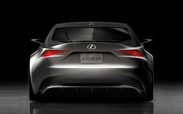 Lexus LF-CC Exterior Sketch Rear