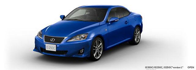 2013 Lexus IS Convertible F SPORT Closed