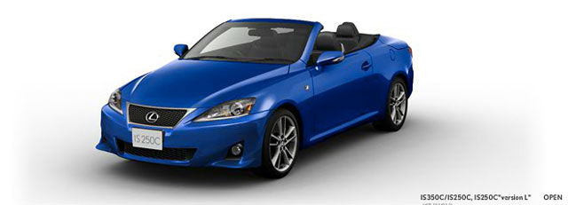 2013 Lexus IS Convertible F SPORT Open