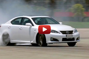 2012 Lexus IS F Motor Trend