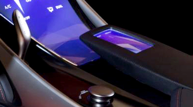 Lexus LF-CC Interior Remote Touch