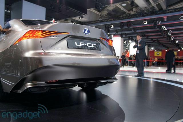 Lexus LF-CC Exterior Engadget