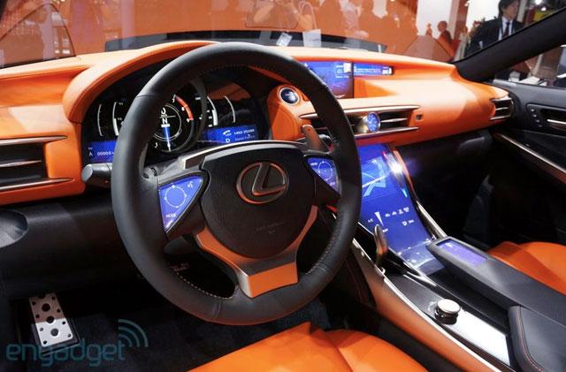 Lexus LF-CC Interior Engadget