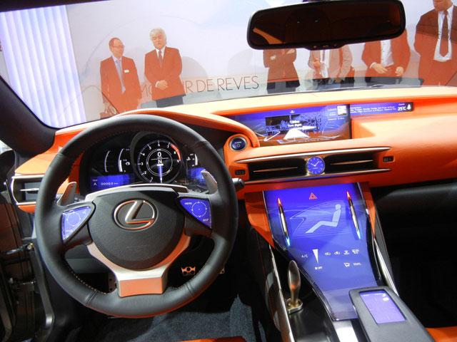 Lexus LF-CC Interior Italy YEAH