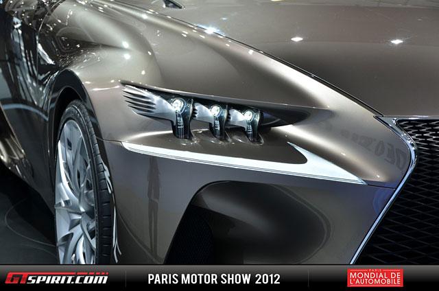 Lexus LF-CC Headlight Detail