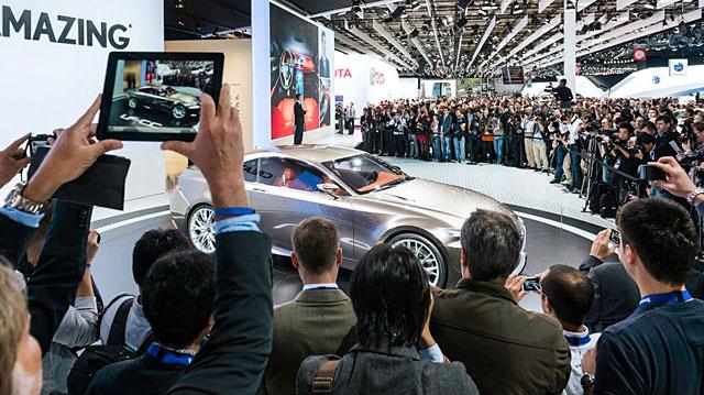 Lexus LF-CC Live Coverage