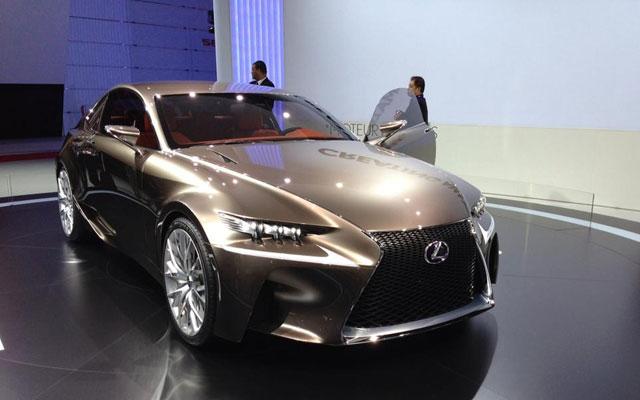 Lexus LF-CC Reveal