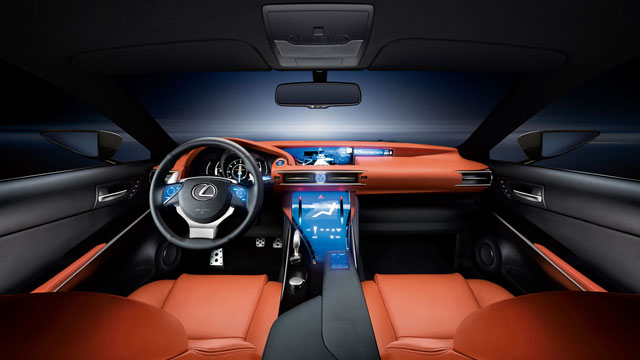 Lexus LF-CC Interior Desktop Wallpaper