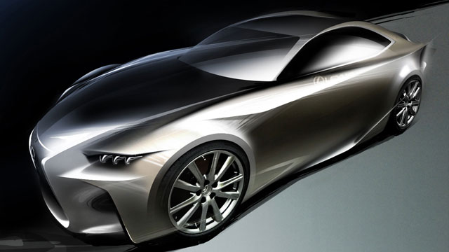 Lexus LF-CC Sketch