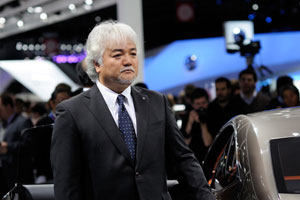 Lexus Design general manager Yo Hiruta