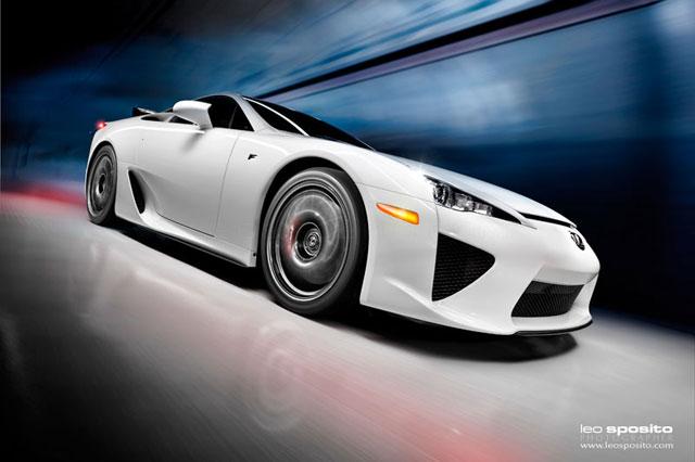 Lexus LFA by Leo Sposito