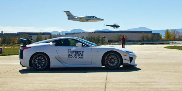 Lexus LFA vs. Jet
