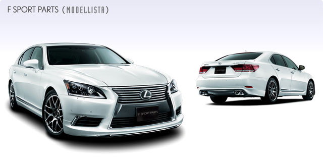 2013 Lexus LS with Modellista Body Kit