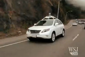 Self-Driving Lexus RX 450h