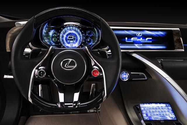 Lexus LF-LC Wheel