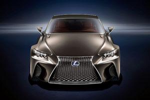 Lexus LF-CC at SEMA