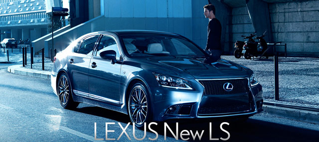 Lexus LS F SPORT Photo Gallery