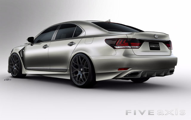 Lexus LS F SPORT by FIVE AXIS