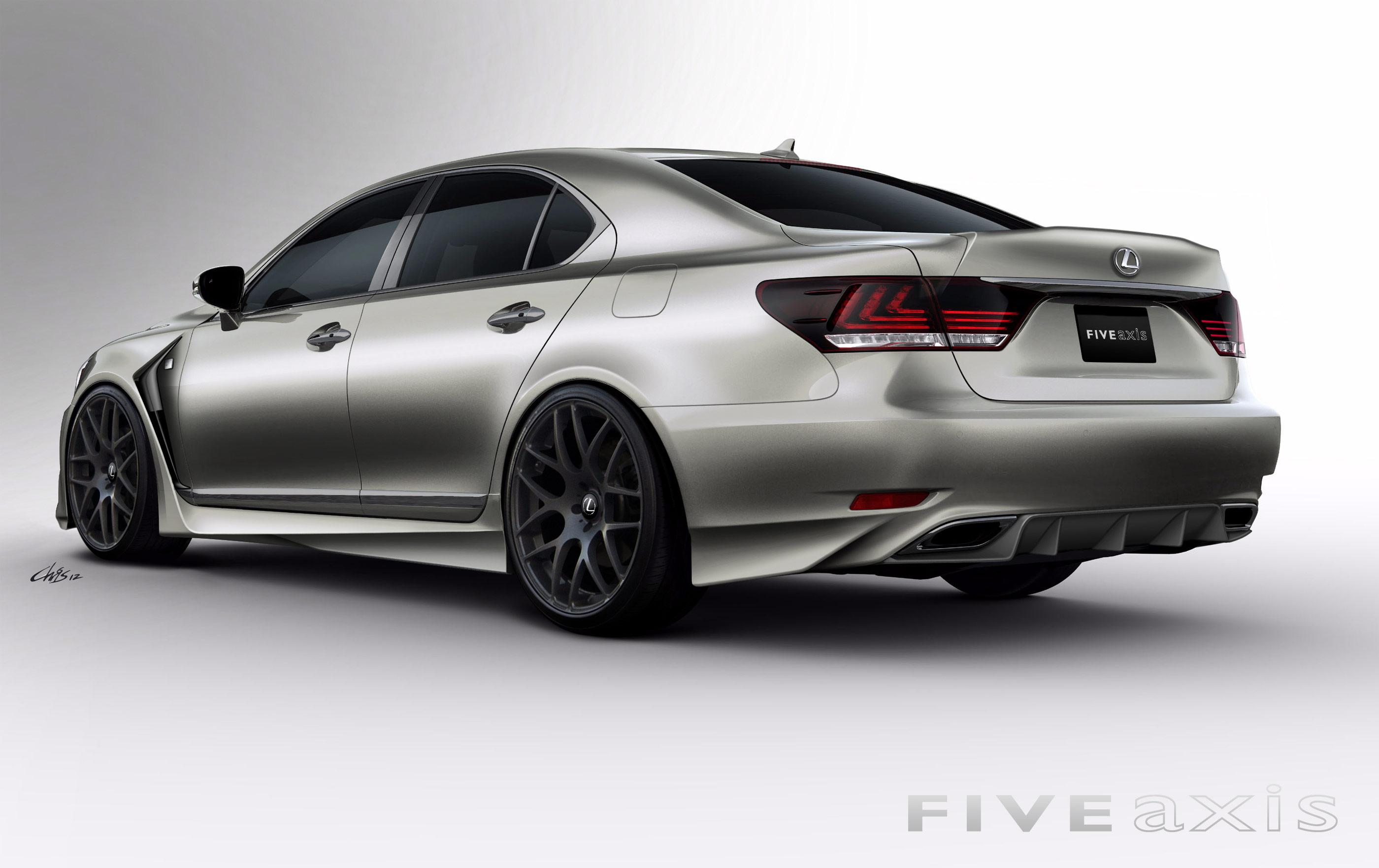 Sema 2012 Project Lexus Ls F Sport By Five Axis Lexus