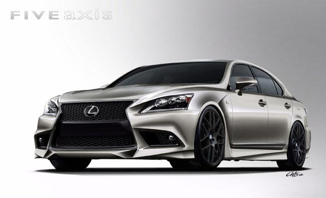 Lexus LS F SPORT Front