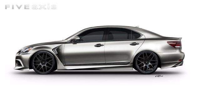 Lexus LS F SPORT Side