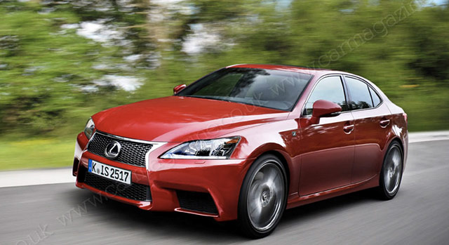 Next-Generation Lexus IS
