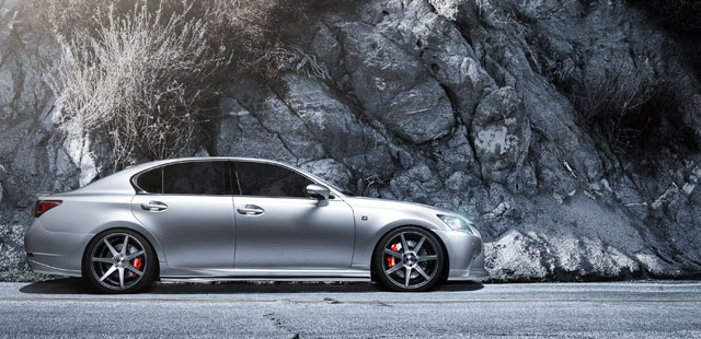 Supercharged Lexus GS for
