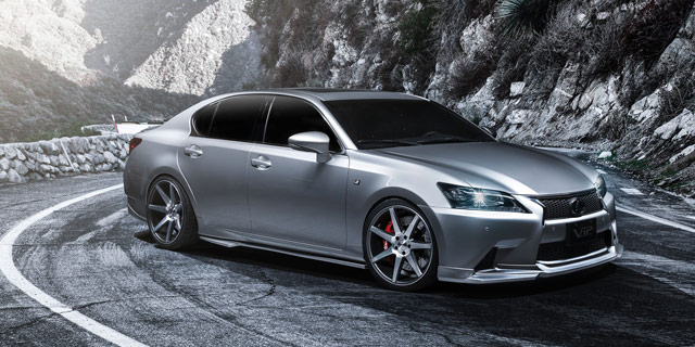 Supercharged Lexus GS for SEMA