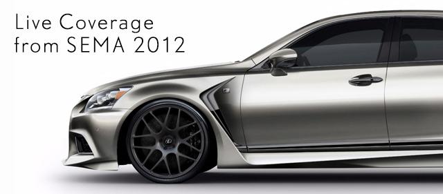 2013 Lexus LS @ SEMA 2012