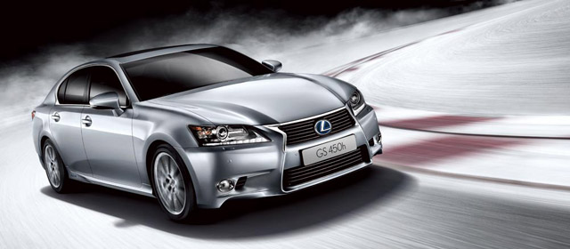Lexus GS in China