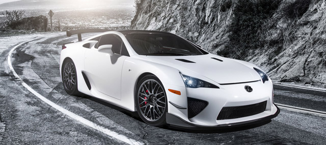 Lexus LFA Nürburgring Edition from SEMA
