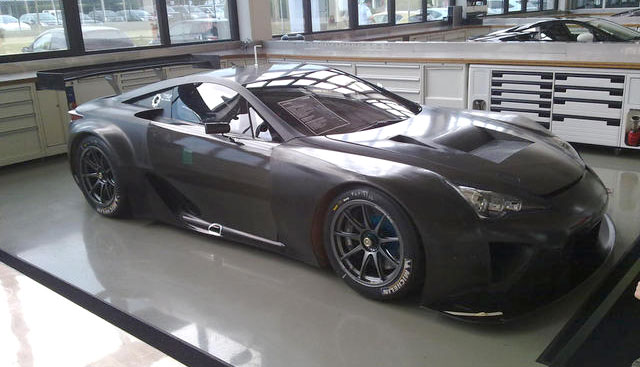 Lexus LFA GTE Prototype from last year