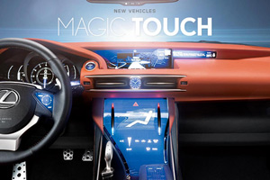 Lexus LF-CC Touch Technology