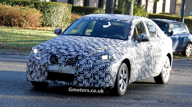 Next Generation Lexus IS Camouflage