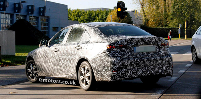 Lexus IS Next Generation Rear