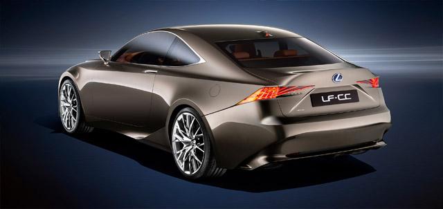 Lexus LF-CC Rear Quarter