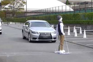 Lexus LS Pedestrian Safety