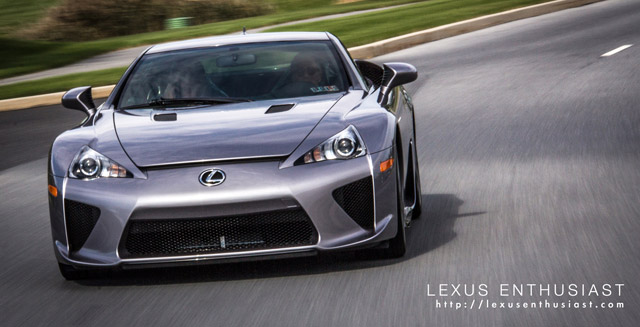 Two-Tone Lexus LFA Wallpaper