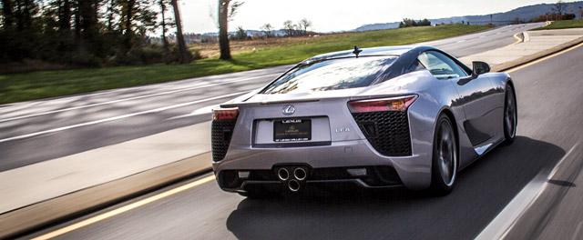 Two-Tone Lexus LFA