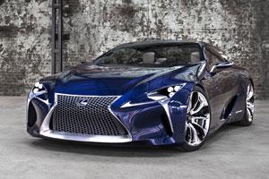 Lexus LF-LC Blue Coming to LA Auto Show | Lexus Enthusiast