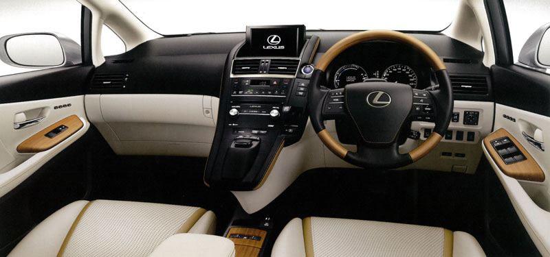 Car Dealerships In Ct >> Lexus HS 250h Interior